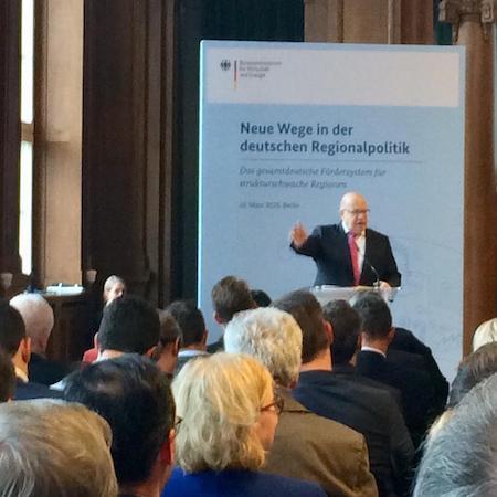 Veranstaltung in Berlin im Bundesministerium für Wirtschaft und Energie mit Peter Altmaier